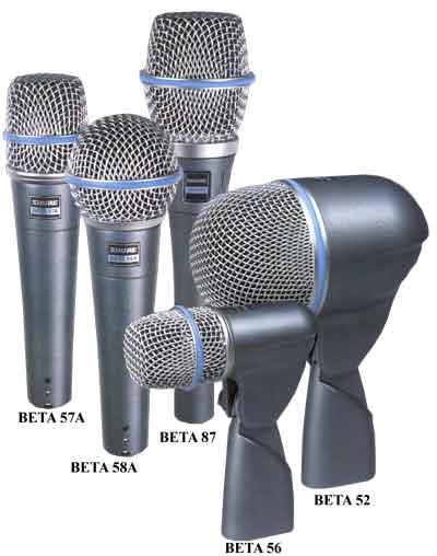 микрофонов для концертных