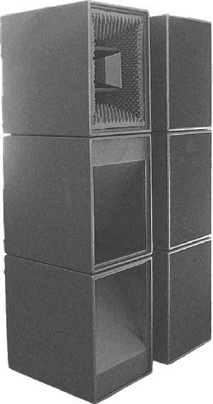 ...VC-118А1 2 субвуфера VC-118А2 В субвуферах VC-118A1 установлено по одному четырехканальному усилителю с аналоговым...