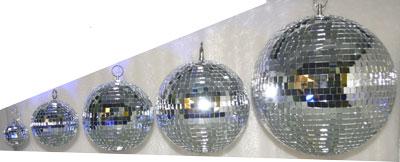 Зеркальные шары своими руками